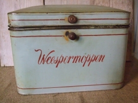 Bakkersblik 'Weespermoppen', VERKOCHT