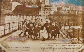 Sieradendoosje Avignon - pont st. Bénézet