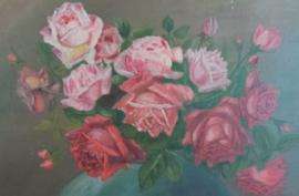 Schilderij met rozen VERKOCHT