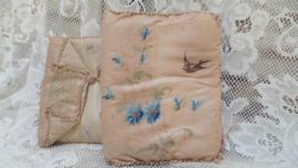 Lingeriehoes zwaluwen & korenbloemen VERKOCHT
