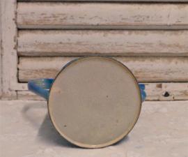 Emaille koffiepot met filter