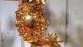 Antieke bruidsstoel