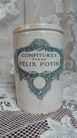 Félix Potin Confiture pot, groot model VERKOCHT