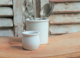Frans yoghurtpotje