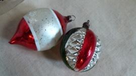2 kerstballen VERKOCHT