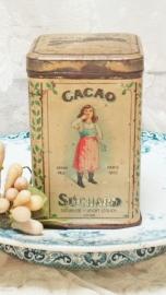 Cacao blikje Suchard VERKOCHT