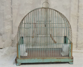 Vogelkooitje mintgroen VERKOCHT