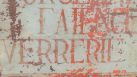 Winkelbord 'Porcelaine' VERKOCHT