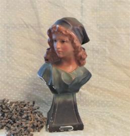 Gipsen buste 'Lisette' VERKOCHT