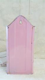 Roze emaille lavement VERKOCHT