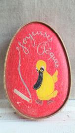 Paasdoosje 'Joyeuses Pâques'