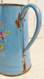 Franse koffiepot met bloemen VERKOCHT