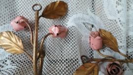 Kapstokjes met roosjes VERKOCHT