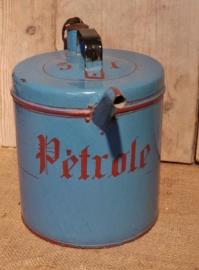 Frans emaille petroleumkan VERKOCHT