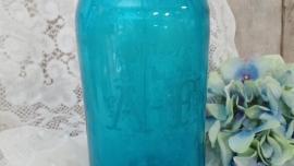 Blauwe spuitfles VERKOCHT