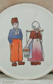 Onderzetter boer & boerinnetje