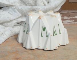 Art deco puddingvorm Gono Maizena VERKOCHT