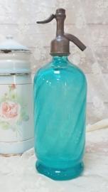 Spuitfles zeeblauw/zeegroen VERKOCHT
