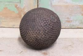 Oud petanque speelbal