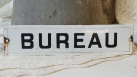 Emaille bordje 'Bureau' VERKOCHT