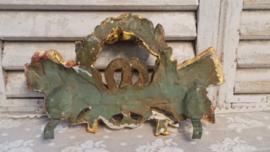 Verguld ornament VERKOCHT