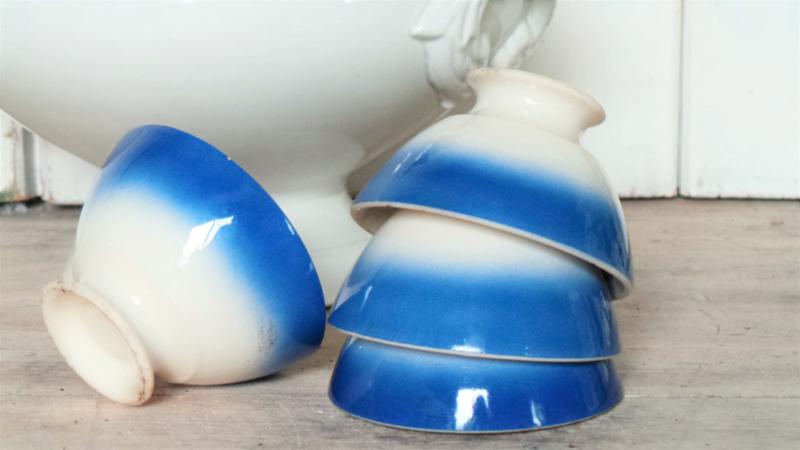 Blauwe kommetjes VERKOCHT
