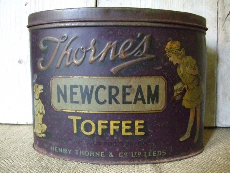 Blik Thorne`s Newcream Toffee VERKOCHT
