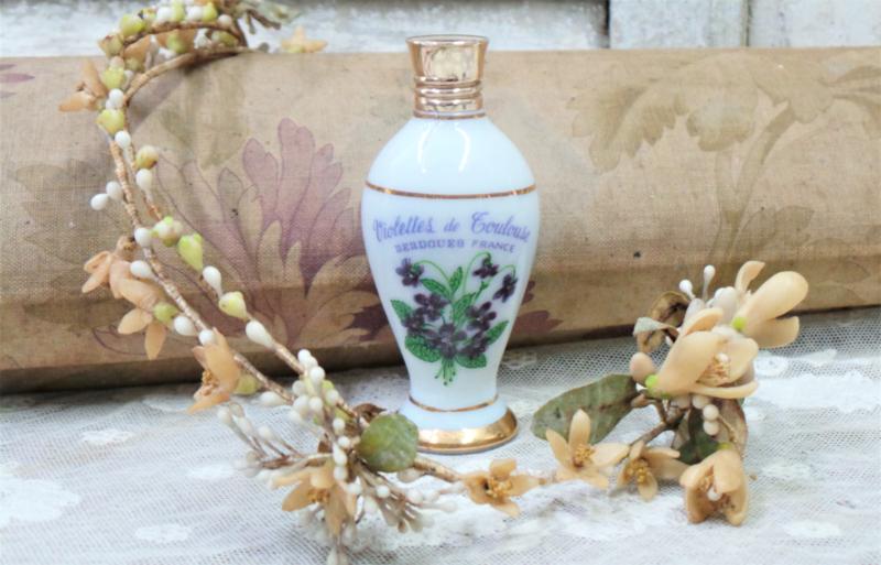 Parfumflesje 'Violettes de Toulouse' VERKOCHT