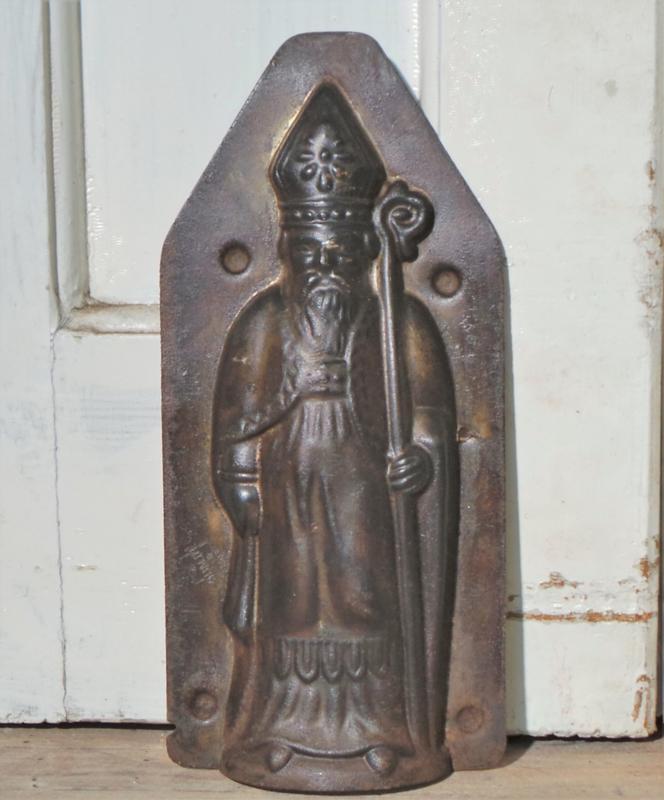 Chocolademal Heiligman / Sint-Nicolaas VERKOCHT