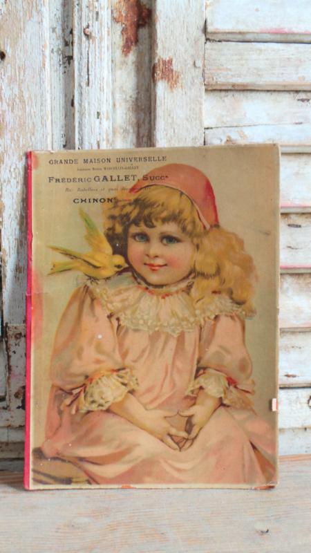 Fotomapje karton meisje VERKOCHT