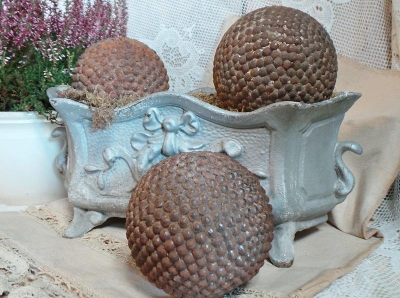 Oude petanque ballen VERKOCHT
