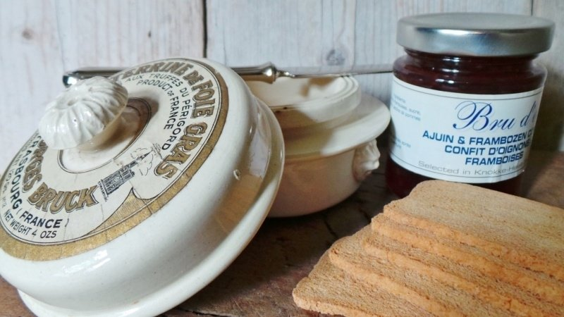 Paté potje, foie gras terrine VERKOCHT