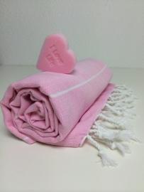 Savon de Marseille - Petit Coeur  Rose