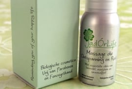 "Bionatural Massage olie ""Ontspanning & Rust"" - 50ml"