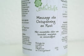 "Bionatural Massage olie ""Ontspanning & Rust"" - 250 ml"