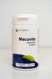 Macuvite - 100 V-caps Zeaxanthine & Lutheïne
