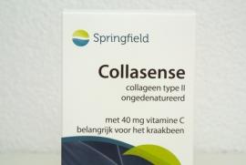 Collasense - 60 V-caps 40 mg ongeden. collageen type-II met 40 mg vit C