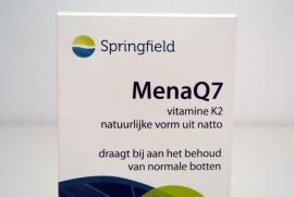MenaQ7 - 60 tabletten 45 mcg vitamine K2 & 5 mcg D3