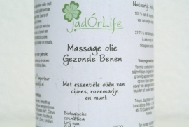 "Bionatural Massage olie ""Gezonde Benen"" - 250ml"