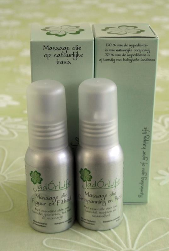 Twee flacons natuurlijke Massage olie - 10% korting