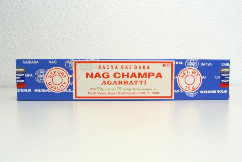 Nag champa - de enige echte!
