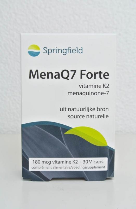 MenaQ7 Forte - 180 mcg vit. K2 + 5 mcg vit. D 30 V-caps