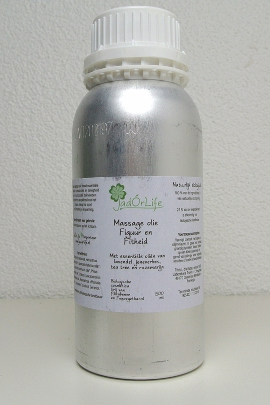 "Bionatural Massage olie ""Figuur & Fitheid"" - 500 ml"