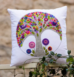 Mini Tree of Life Cushion