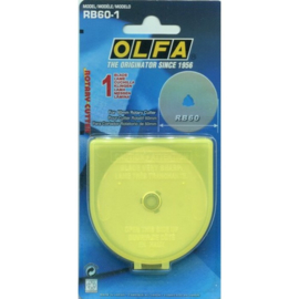 Olfa Reserve mes - 60 mm (1 mes) Spare Blade
