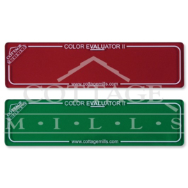 Color Evaluator II set : Red en Green