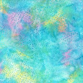 Hoffman Batik Dots  885 135 Pastel