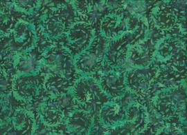 Handmade Batik Green Wreath
