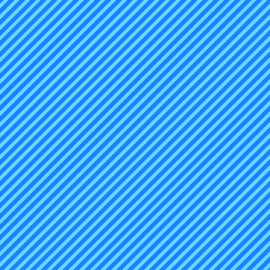Candy Stripe Electric Blue