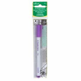 Paarse Verdwijnstift - Air Erase Fabric Marker Purple thick
